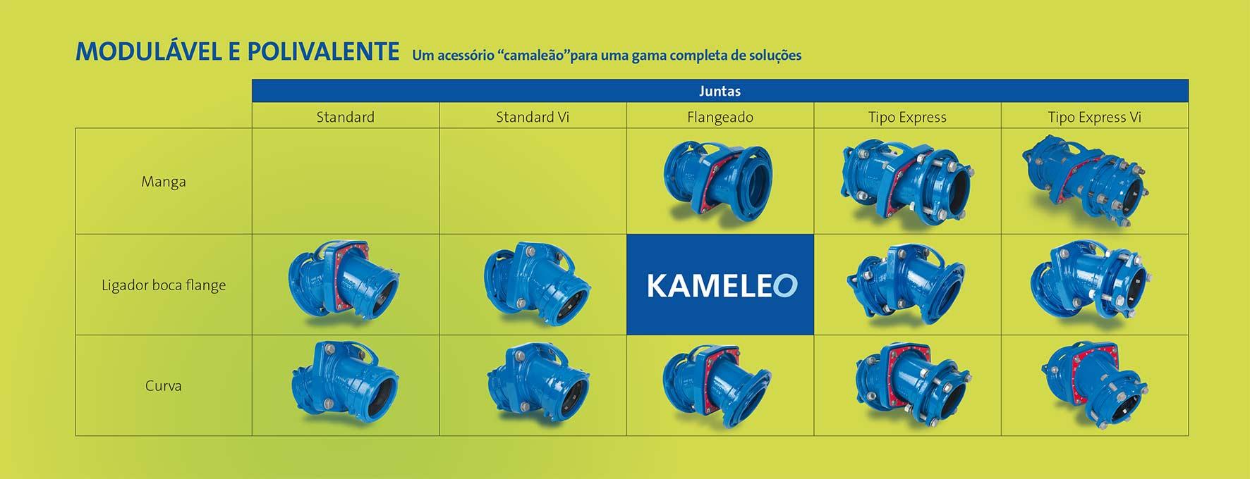 Uma gama completa - Kameleo - Saint-Gobain PAM