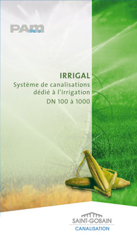Irrigal_Aperçu du catalogue