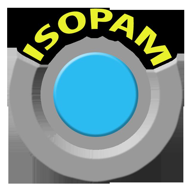 Logo da gama ISOPAM