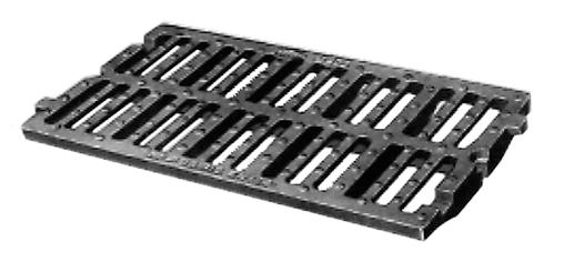 TRANSLINEA ® E 600 & D 400 - Grilles pour caniveaux à chaînage mécanique pour circulation transversale