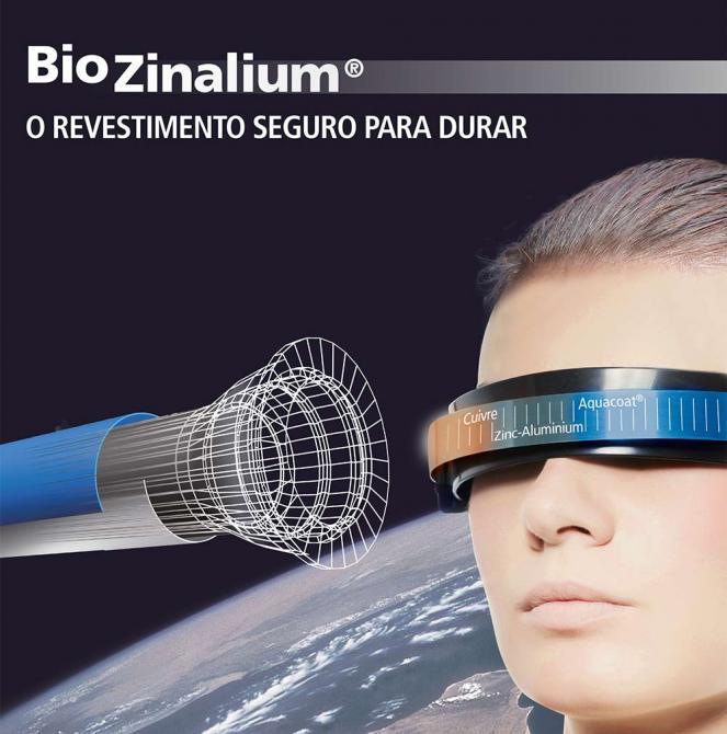 Revestimento Biozinalium - Saint-Gobain PAM Portugal