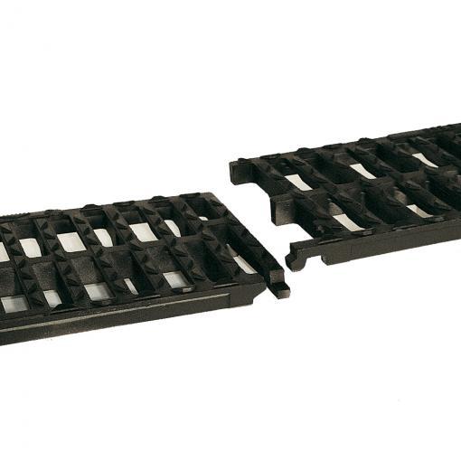 AUTOLINEA ® D 400, C 250 - Grelha instalação longitudinal, grandes comprimentos,  interligadas por barra elástica - Saint-Gobain PAM Portugal