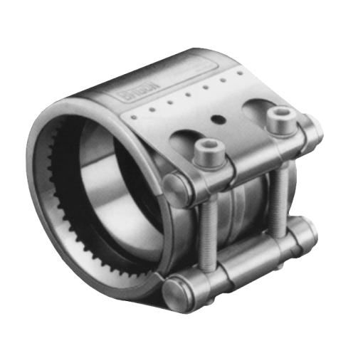 Manga FIX LINK travada para tubos de ferro fundido dúctil conformes com norma EN 545