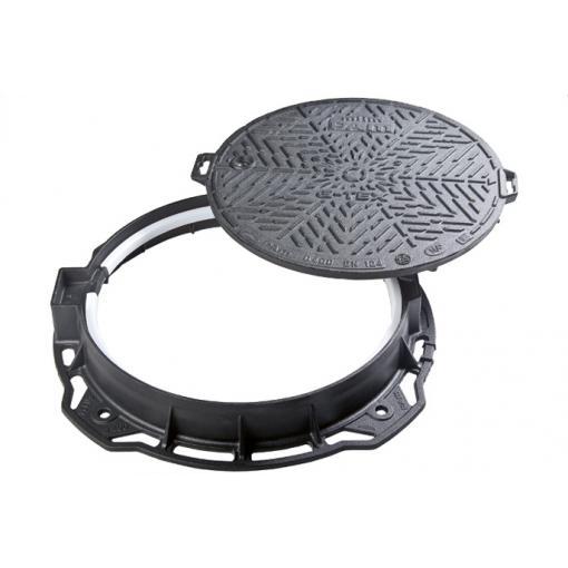 Tampa em ferro fundido dúctil D 400 da gama G-TEX ®