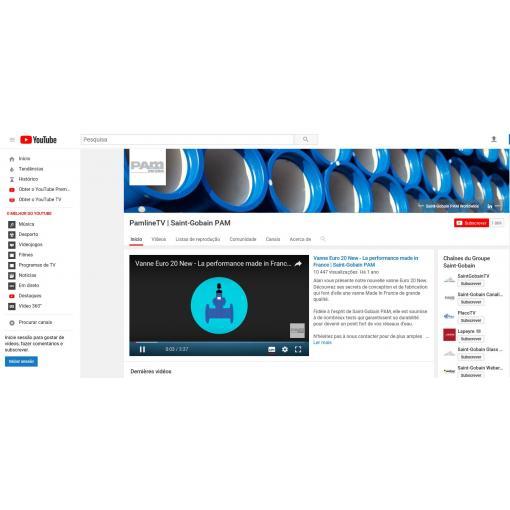 Nossos vídeos no YouTube : PAMLINE TV