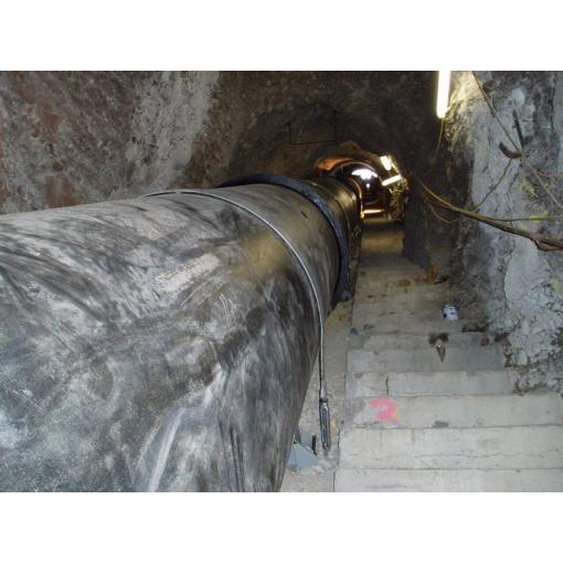 Instalação em galeria - tubagem Grande DN em ferro fundido dúctil - Saint-Gobain PAM
