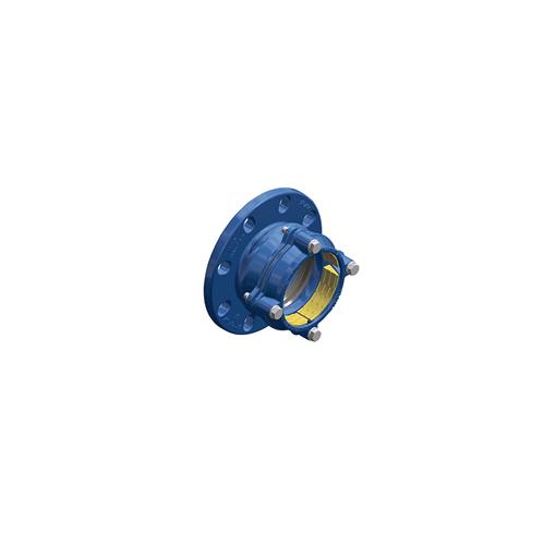 Quick PEAD adaptador de flange mecânico travado para PEAD