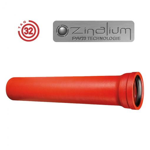 Revestimiento ZINALIUM ® - Tubo TAG32 - Saint-Gobain PAM Portugal