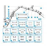 Rede em ferro fundido dúcil  - tubos e acessórios flangeados - Saint-Gobain PAM