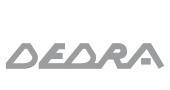 Logotipo da gama Dedra- Saint.Gobain PAM Portugal