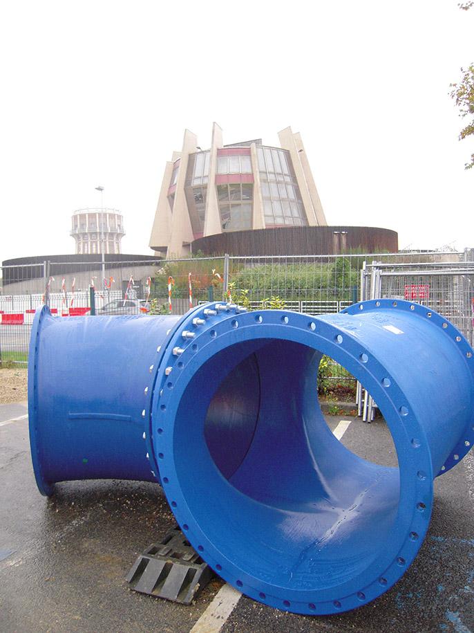 EUROSTOP - válvula de borboleta - seccionamento - água - Saint-Gobain PAM